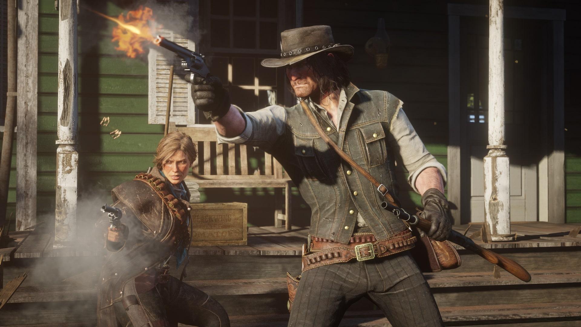 какой онлайн в Red Dead Redemption 2