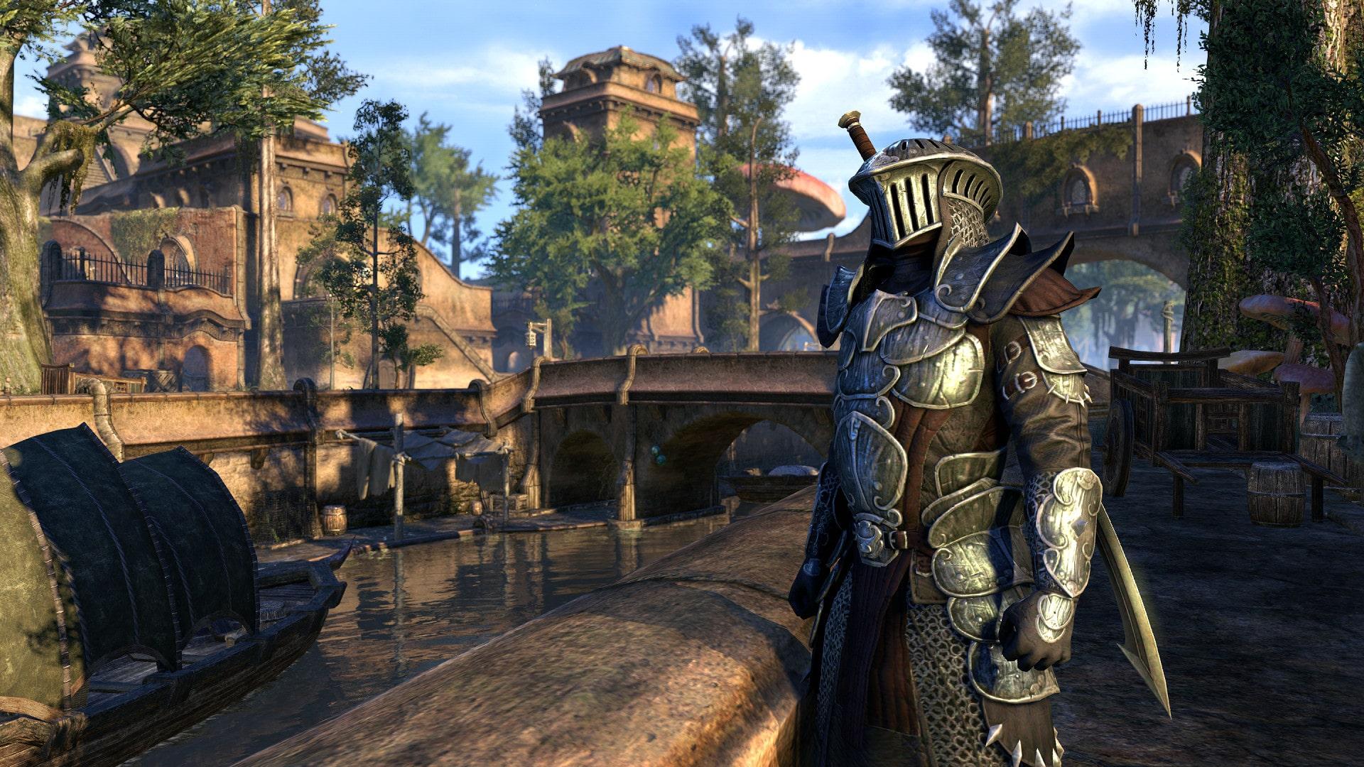какой онлайн в Elder Scrolls Online