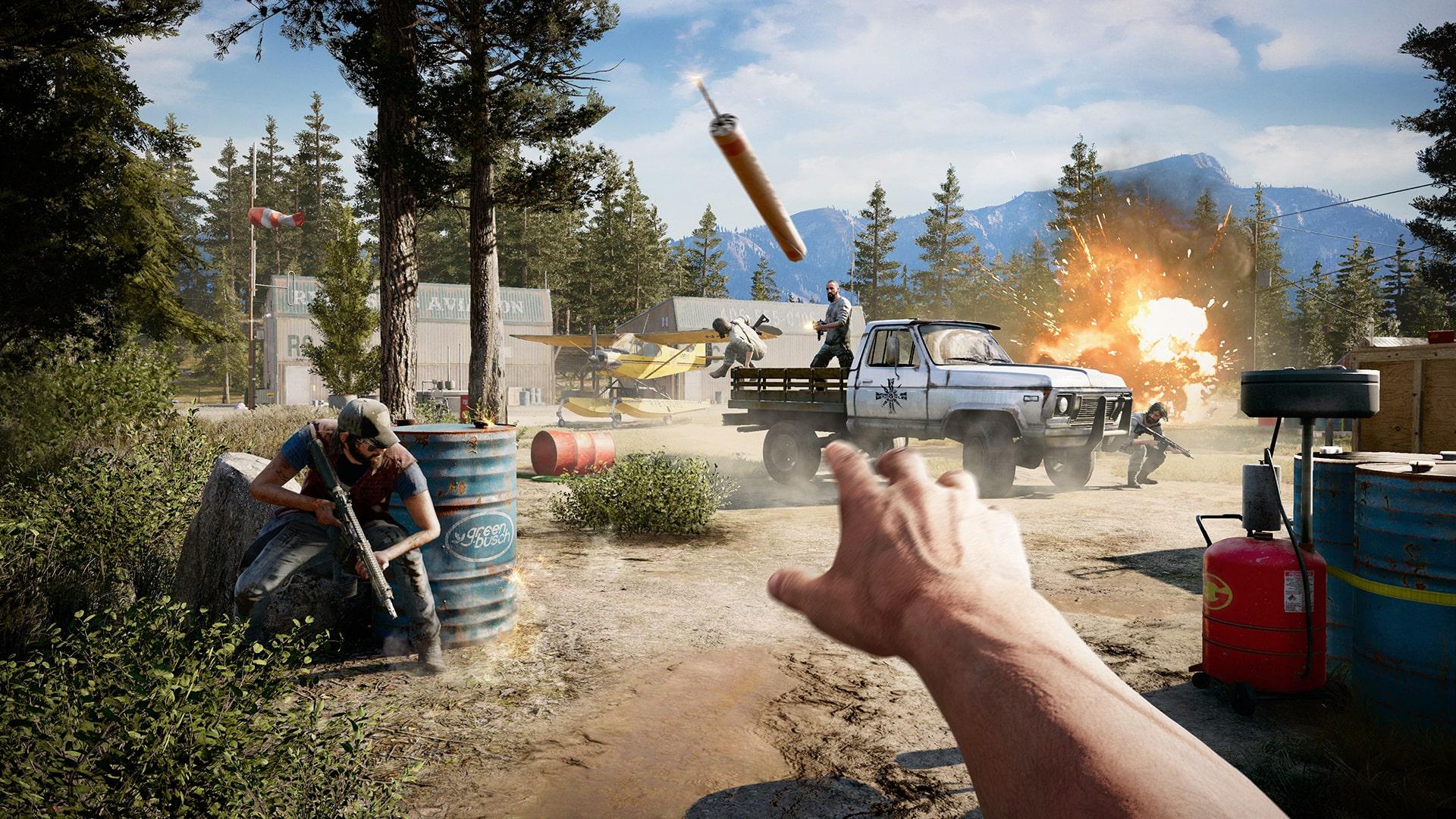 какой онлайн в Far Cry 5