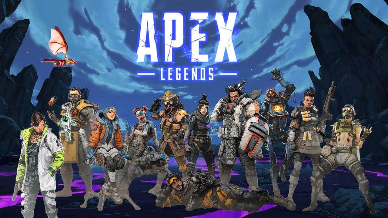 какой онлайн в Apex Legends