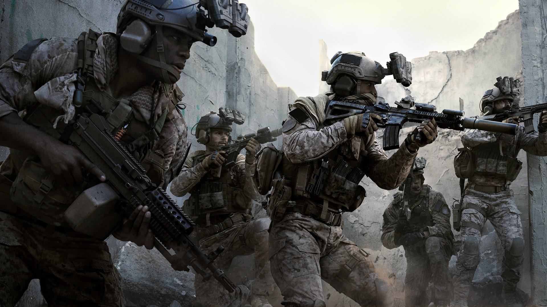 какой онлайн в Call of Duty: Modern Warfare