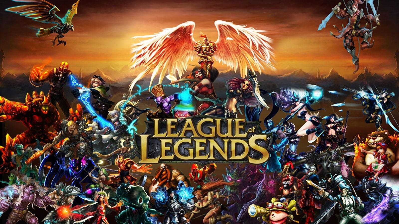 какой онлайн в League of Legends